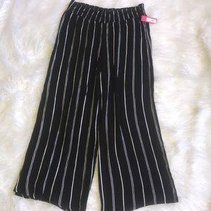 Pinstripe Parachute Pants
